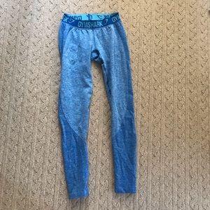 Blue Gymshark Flex Leggings
